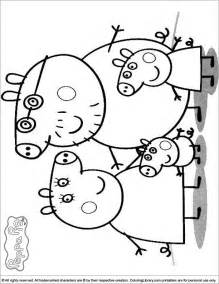free coloring pages peppa pig sugar