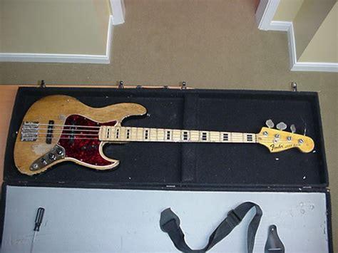 Gitar Bass Fender Jazz Bass 94 99 guitars 94 1966 fender jazz bass w mid 70 s neck