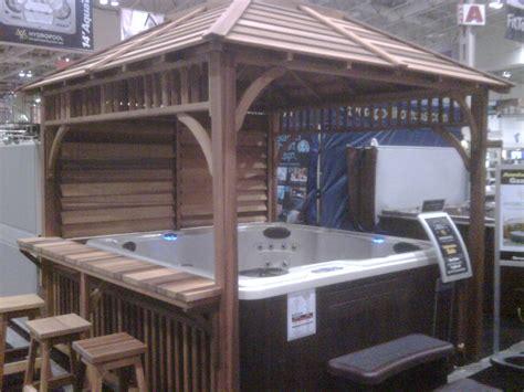 Backyard Gazebo Tent Tubs At Toronto Home Show