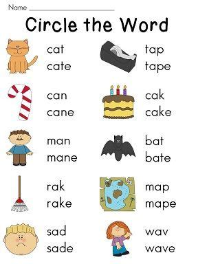 Silent E Worksheets by Silent E Worksheets For Vowel And Vowel