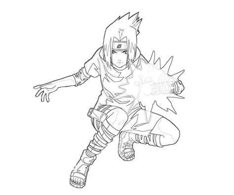 naruto coloring pages sasuke naruto sasuke ninjutsu how coloring