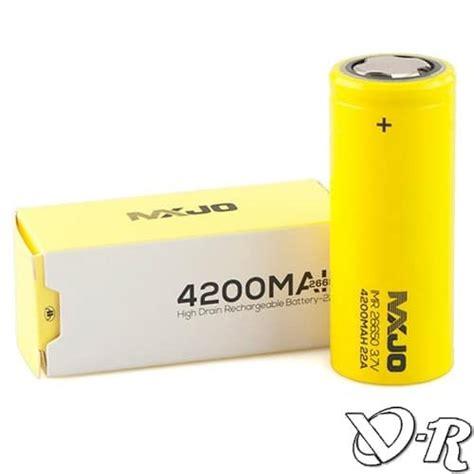 Mxjo 26650 Battery Vape 4200mah batterie accu mxjo 26650 4200mah 50a flat top imr vapo r
