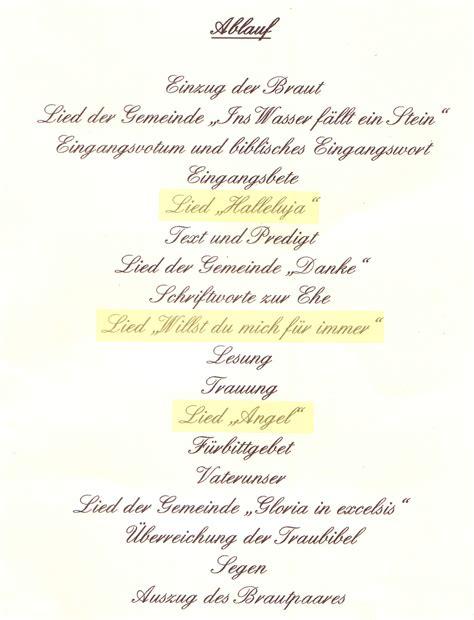 Hochzeit Trauung Ablauf by Infos Zum Ablauf In Kirche U Feier Die Hochzeitss 228 Ngerin