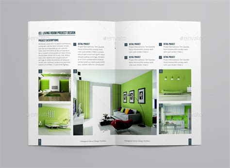 portfolio brochure template portfolio brochure template by habageud graphicriver