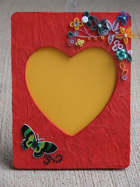 paper quilling photo frame tutorial handmade paper photo frames tutorial www pixshark com