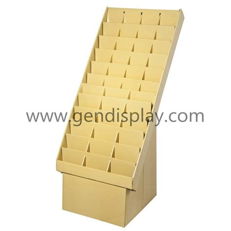 fsdu cardboard display shelf for brochure holders gen