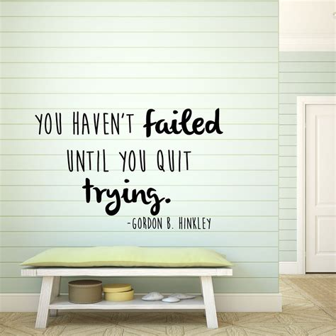 wall stickers inspirational quotes inspirational quotes wall decals gordon b hinckley home vinyl wall quotes customvinyldecor