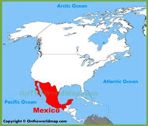 where can i find a map of mexico