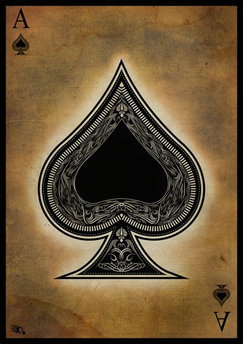 ace of spades aces eights books ace of spades by gaberios on deviantart cards