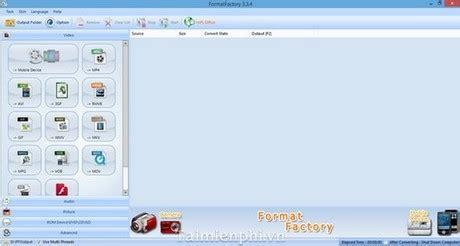 format factory full vn zoom chuyển đổi đổi đu 244 i video bằng format factory