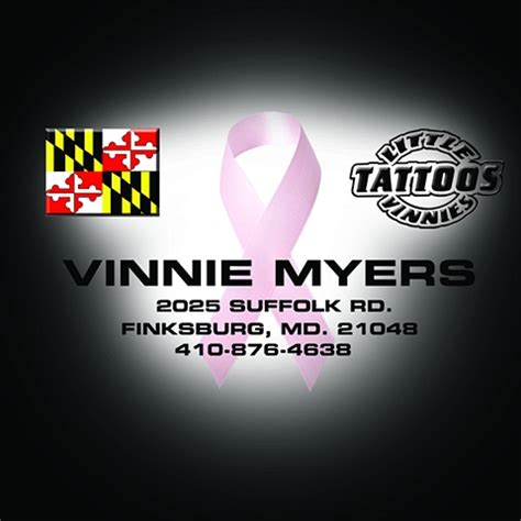 vinnie tattoo breast cancer vinnie myers