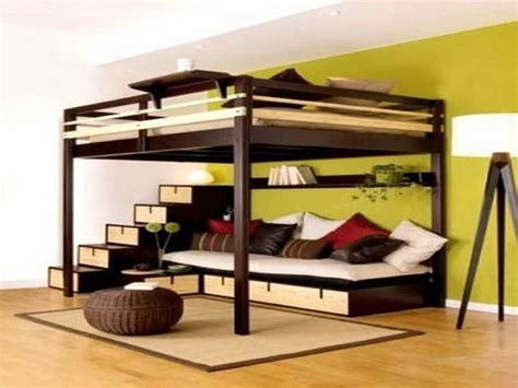 Loft Bed With Sofa Great Bunk Beds With Underneath Big Boys Room