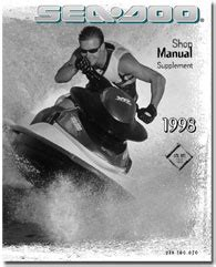 1998 Seadoo Gtx Rfi Service Shop Manual Supplement Free