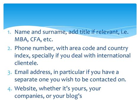 Mba Credentials Your Email Signature by 5 Tips For A Better Email Signature