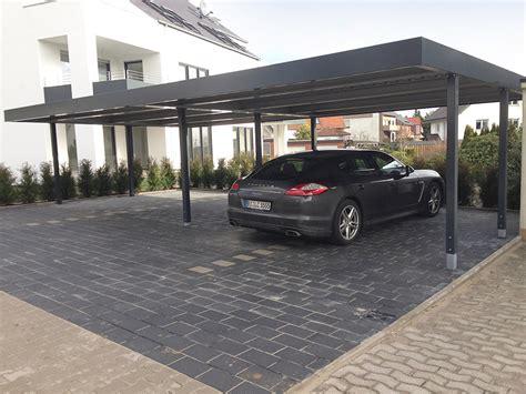 Moderne Carports by Reihencarports Und Garage Carport Kombinationen Carceffo