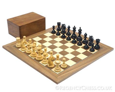 luxury chess set luxury staunton chess pieces boards the regency chess