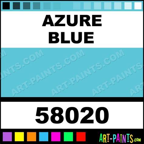 azure blue white nights cardboard set watercolor paints 58020 azure blue paint azure blue