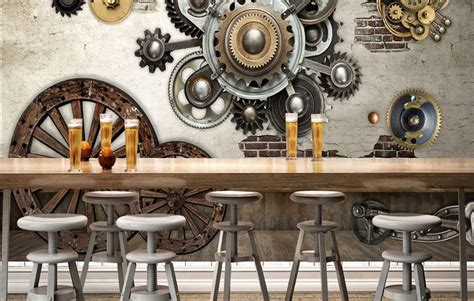 wallpaper dinding cafe keren nirwana deco jogja