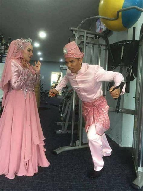 Baju Bodoh Pengantin foto perkahwinan di dikecam netizen iluminasi