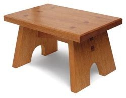 wooden foot stool plans  woodworking
