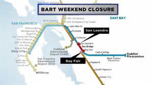 Bart Map East Bay by Warriors Victory Means Bart Will Resume Normal Service