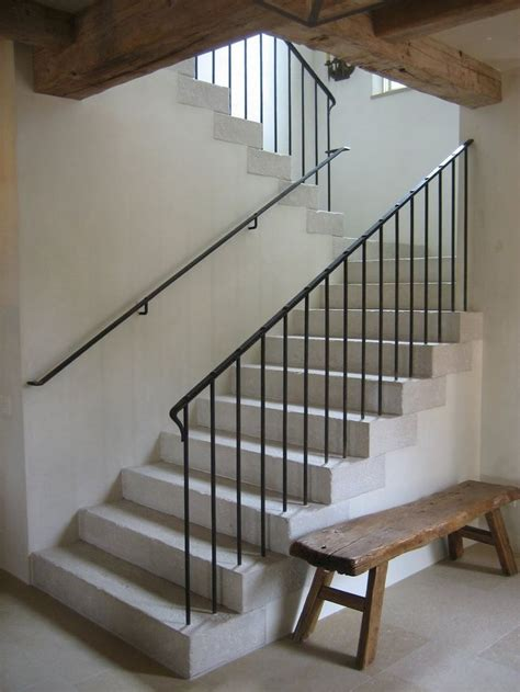 banister in spanish minimalist iron railing in the details pinterest