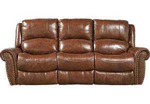 Power Recliner Sofa Leather Abruzzo Brown Leather Power Reclining Sofa Leather Sofas Brown