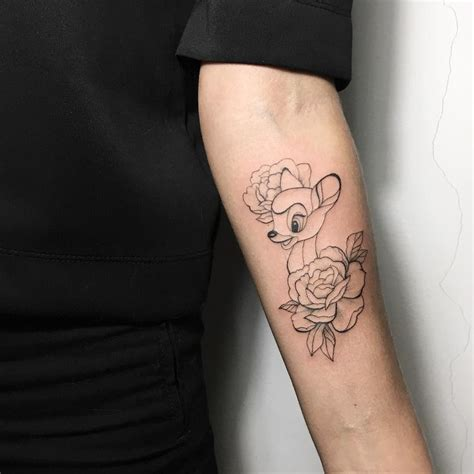 bambi tattoo 25 best ideas about on