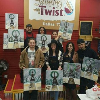 paint and twist dallas painting with a twist 80 photos 53 reviews