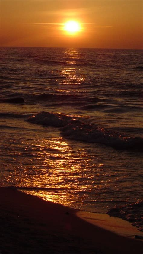 wallpaper for iphone 5 sunset free download ocean beach sunset hd iphone 5 wallpapers