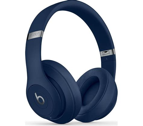 Headset Beats Studio buy beats studio 3 wireless bluetooth noise cancelling headphones blue free delivery currys