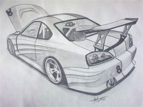 drift cars drawings how to draw drift cars