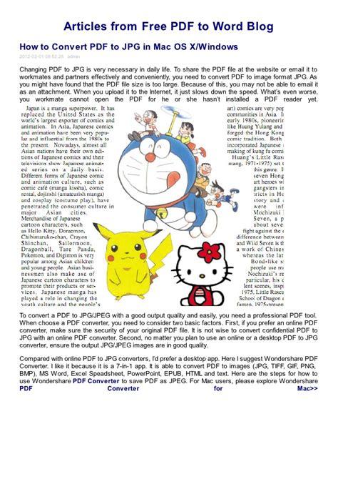 convert pdf to word os x how to convert pdf to jpg in mac os x windows free pdf to