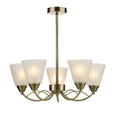 Modern Antique Brass Ceiling Lights Dar Dar Rid0575 Ridley 5 Light Modern Ceiling Light Antique Brass Finish Dar From