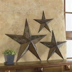 Metal Star Home Decor by Rustic Stars Wall Art My Home Pinterest