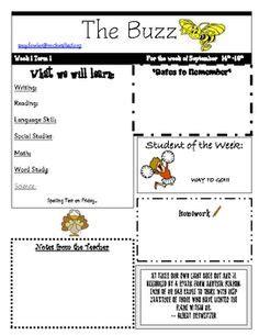 Editable Homework Covers Weekly Homework Sheet Homework Sheet And Homework Communications Newsletter Template