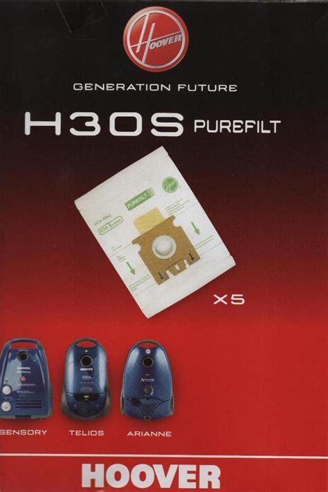 sacchetti aspirapolvere hoover sacchetti hoover h30s sensory telios arianne idea luce di