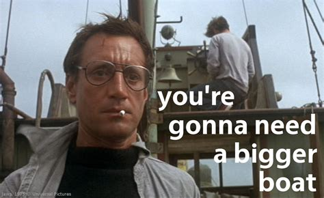 jaws we re gonna need a bigger boat a classic today jaws 1975