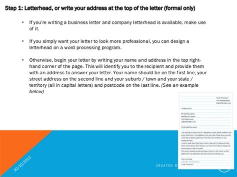 Business Letter Which Address Goes business letter whose address goes best free home