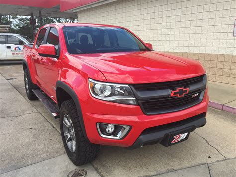 Exterior Paint Vs Interior Paint - some recent mods to my 2015 z71 red colorado chevrolet forum chevy enthusiasts forums