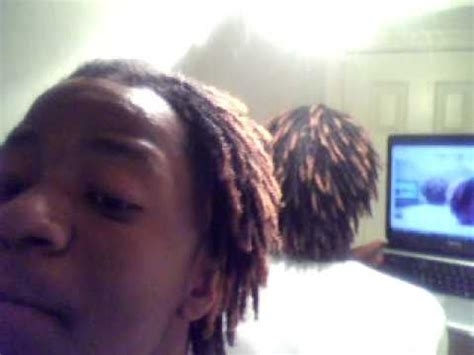 black guys dreaded dyed tips dyed dread loc tips honey blonde youtube