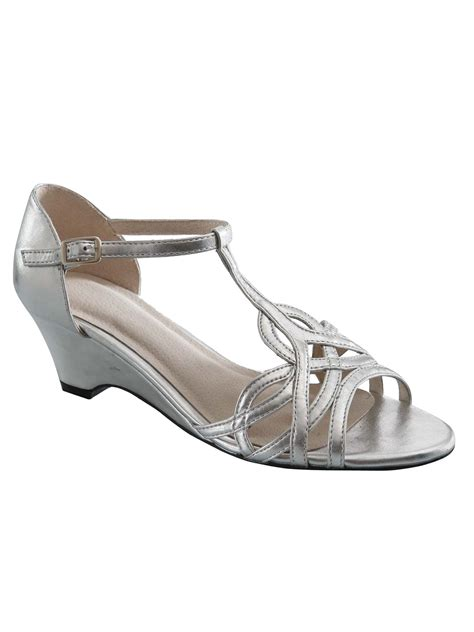 silver dress shoes for dresses