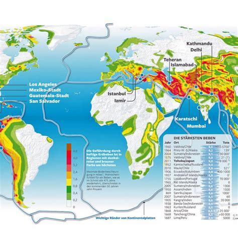 Erdkruste Unter Druck Geophysiker Warnen Vor Mega Beben