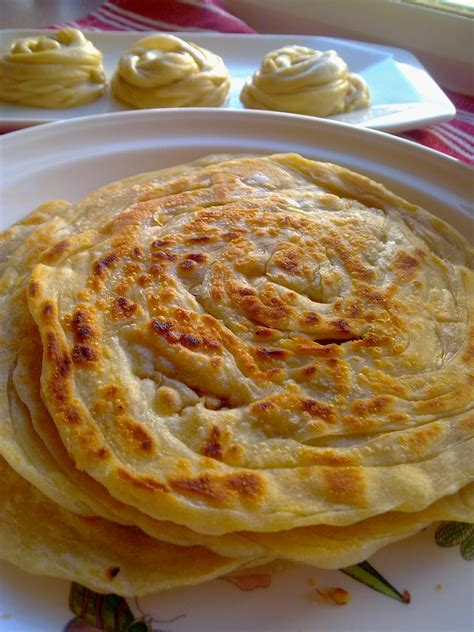 dapur berasap homemade roti canai