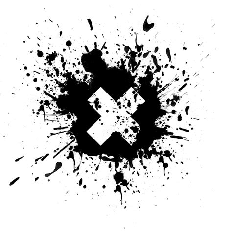 x paint solid letter x icon 069170 187 icons etc
