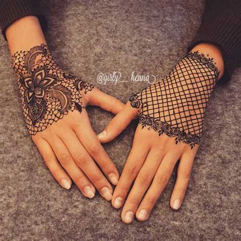 lace hand tattoo trending minimal new bridal mehndi design ideas for this