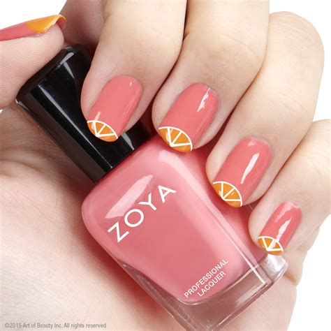 Zoya Nail by Bright Citrus Nail Zoya