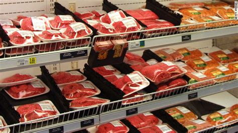 Supermarket Hamburger nutrition labeling for becomes mandatory the chart