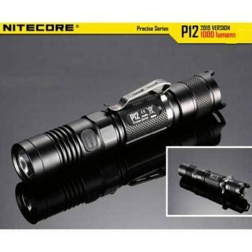 Nitecore P12 Senter Led Cree Xm L2 U2 1000 Lumens nitecore p12 2015version cree xm l2 u2 1000lm led flashlight sale banggood