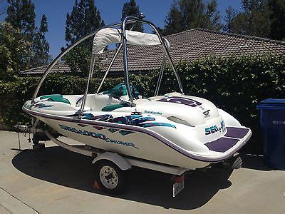 sea doo jet boat wakeboard tower sea doo challenger 18 boats for sale